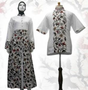Koleksi Baju Batik Couple Muslim Samplingkeyboard