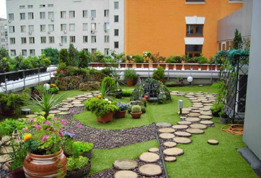 Inspiration create a beautiful rooftop garden design for Garden design 2015