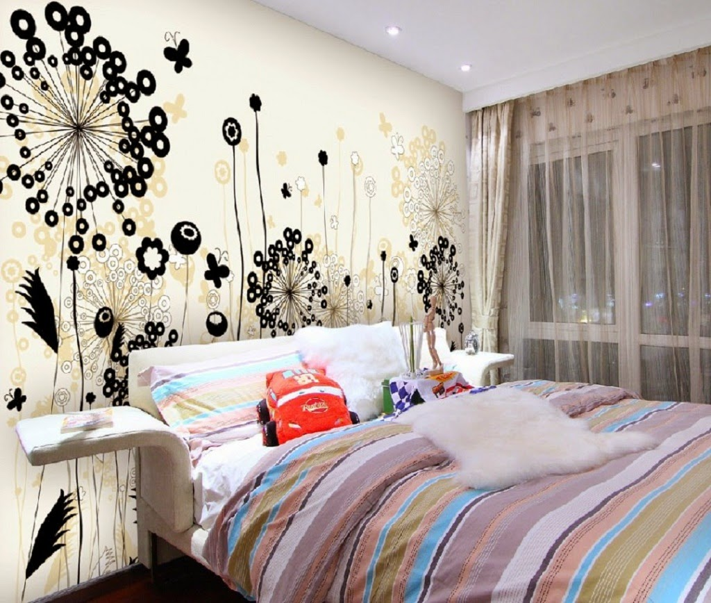 Creative bedroom wall decor ideas - Wonderful Creative Wall Decor Inspiration