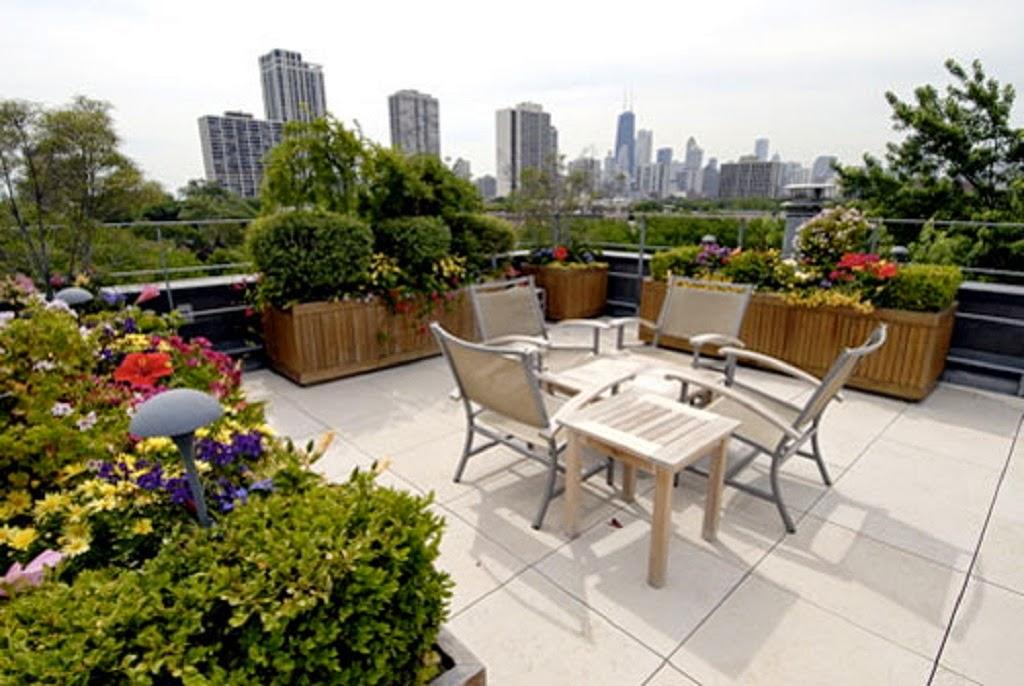 Inspiration create a beautiful rooftop garden design